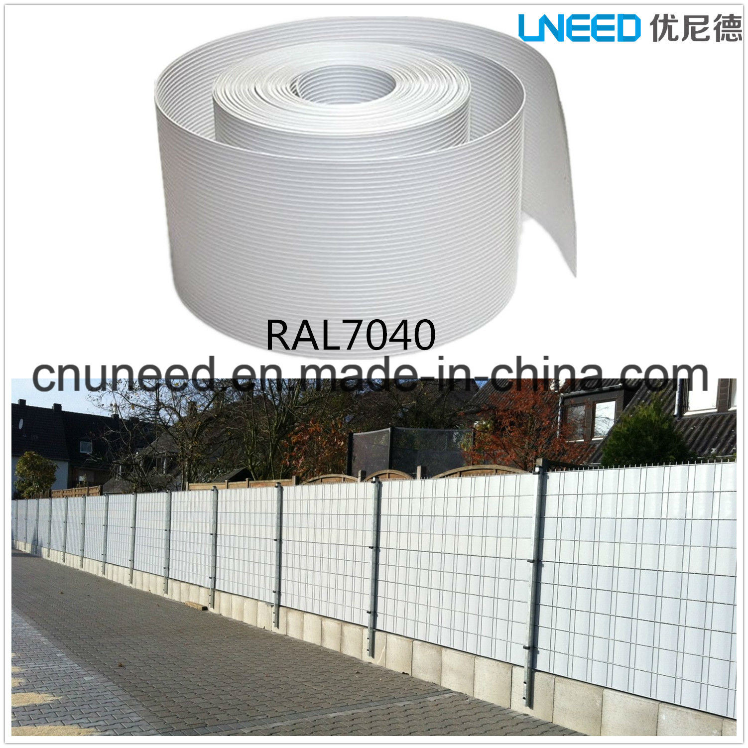 China 100 Uv Resistance Ral7040 1 3mm 19cm 2 525m Hart Pvc