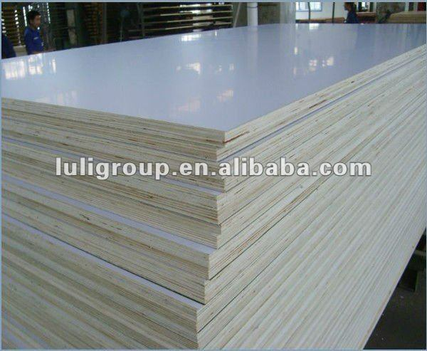 Plastic Plywood, Polyester PVC/ Acrylic Lacquered Plywood in Sale