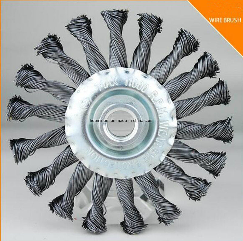 China Carbon Steel Twist Wire Wheel Brush Photos & Pictures - Made ...