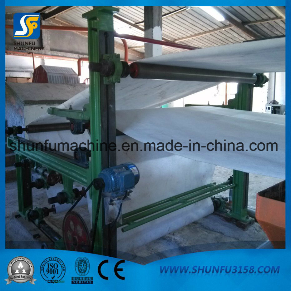 China Paper Pulp and Waste Paper Recycling Jumbo Roll Toilet Tissue ...