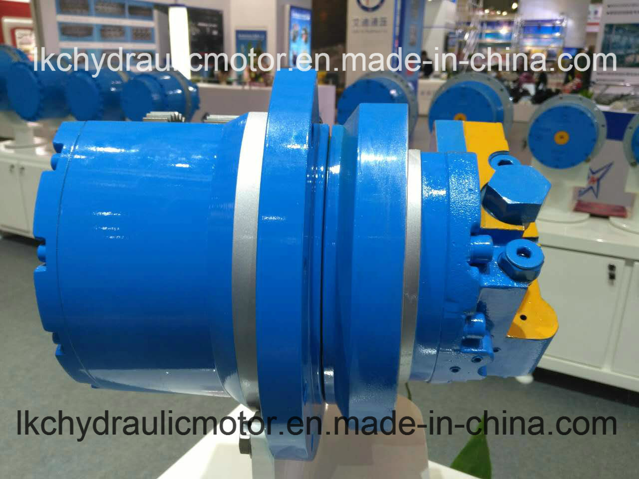 Final Drive Hydraulic Travel Motor for 0.8t~36t Crawler Equipment (LTM02 ~LTM60)