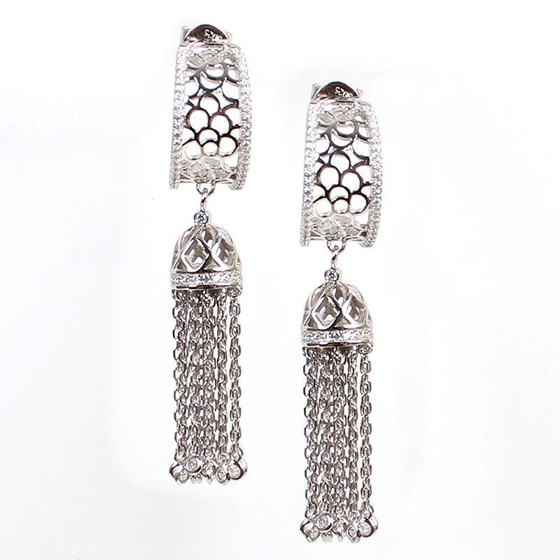 925 Sterling Silver Fancy Earrings