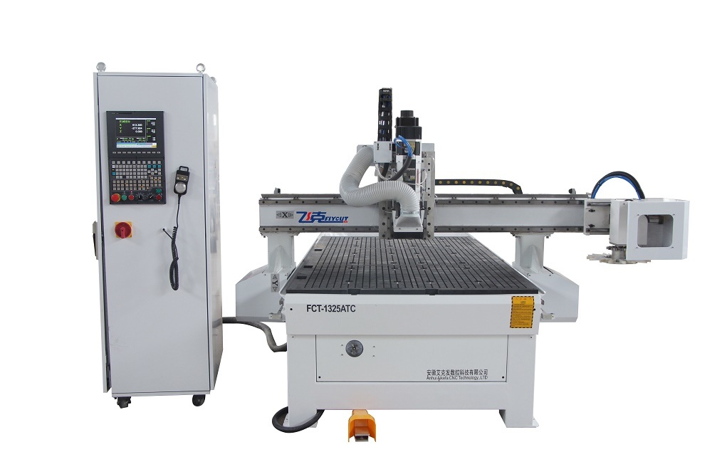 1325 Atc Wood CNC Router with Disc Tool Changer8 Tools