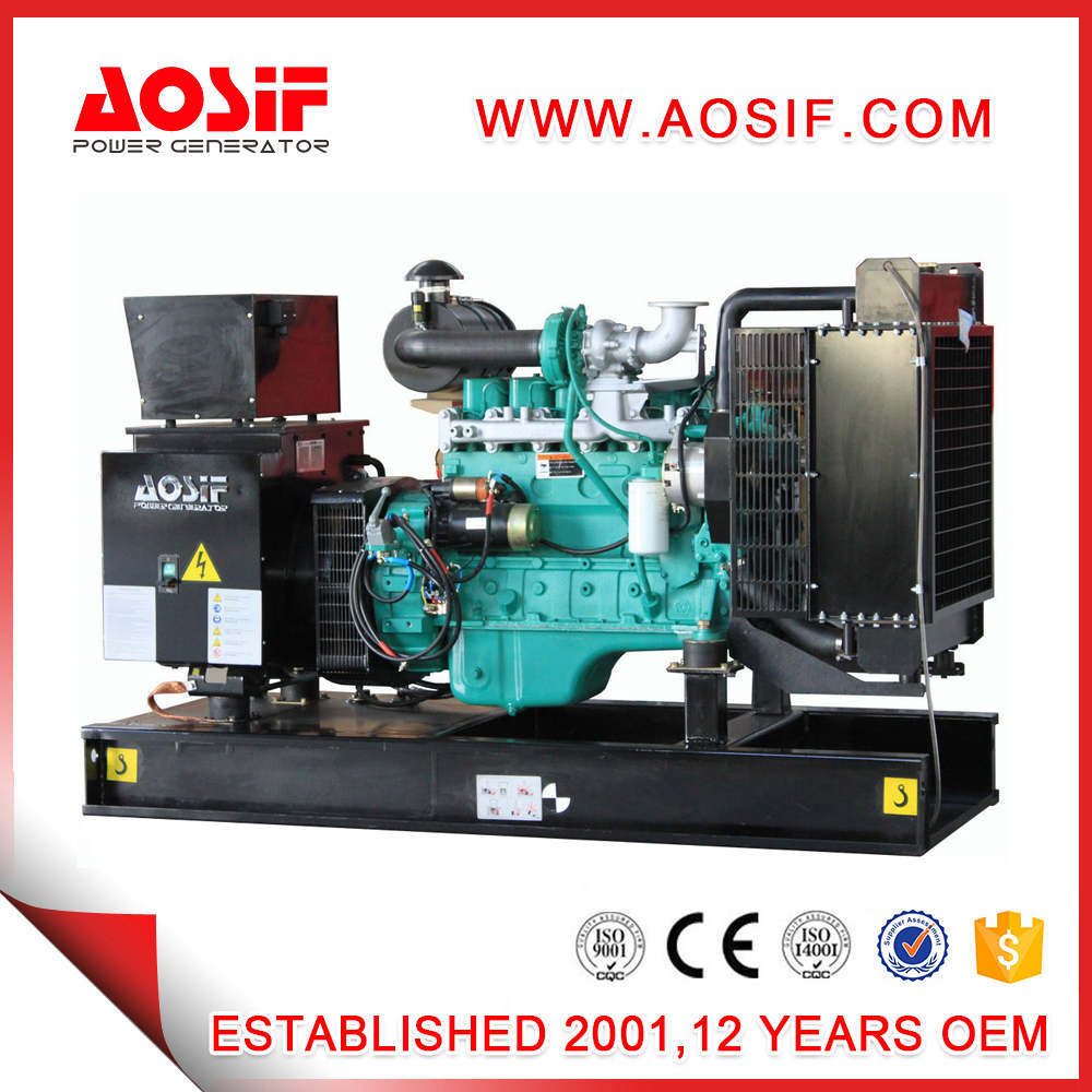 China OEM Factory 200kVA 160kw Aosif Cummins Power Electrical Diesel  Generator - China Gas Generator, Home Generator