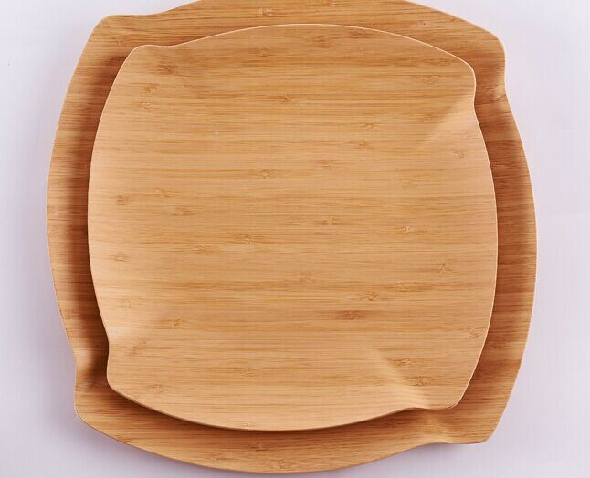 Bamboo Tray Tea Tray Fruit Bowl Fruit Plate Serving Tray