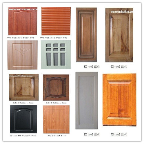 China Solid Pvc Cabinet Door With Lower Price And Superior Quality