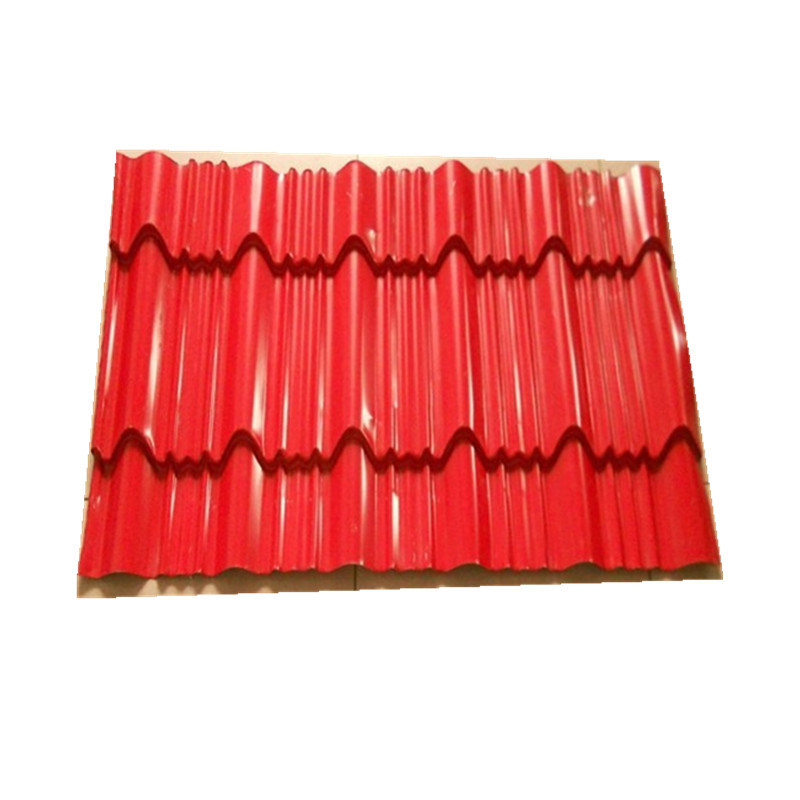 China Prepainted Corrugated Color Coated Steel Roof Sheet China Steel Roofing Sheet