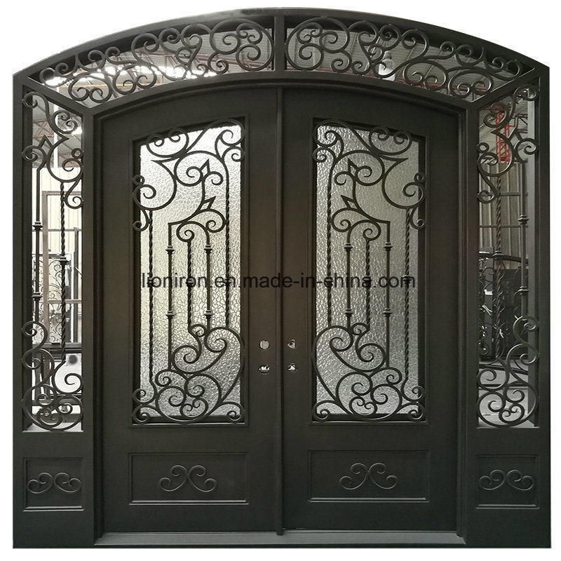 China Modern Metal Security Exterior Iron Wrought Entry