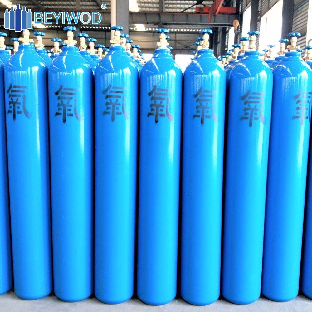 China High Pressure Oxygen Cylinder 6m3 7m3 8m3 10m3 Gas Cylinder ...