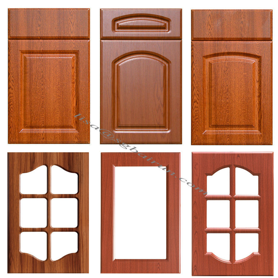 [Hot Item] Kitchen Furniture Parts PVC Kitchen Cabinet Doors