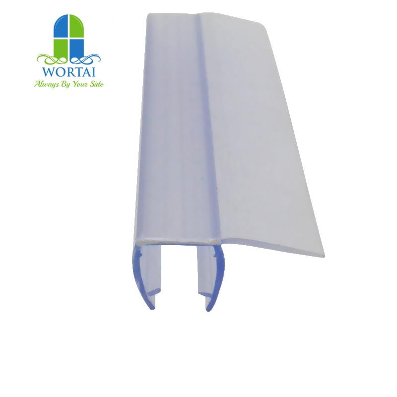 China Sliding Rubber Stopper For Glass Shower Door Seal Strip