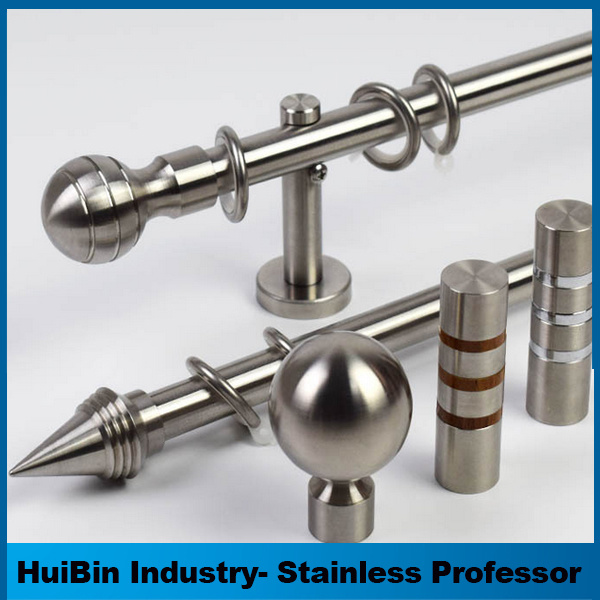 China Big Discount for Latest Luxury Stainless Steel Curtain Rod ...