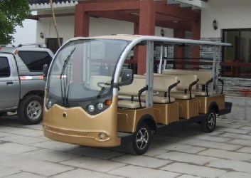 14 Passenger Golf Cart Sightseeing Bus for Sale pictures & photos