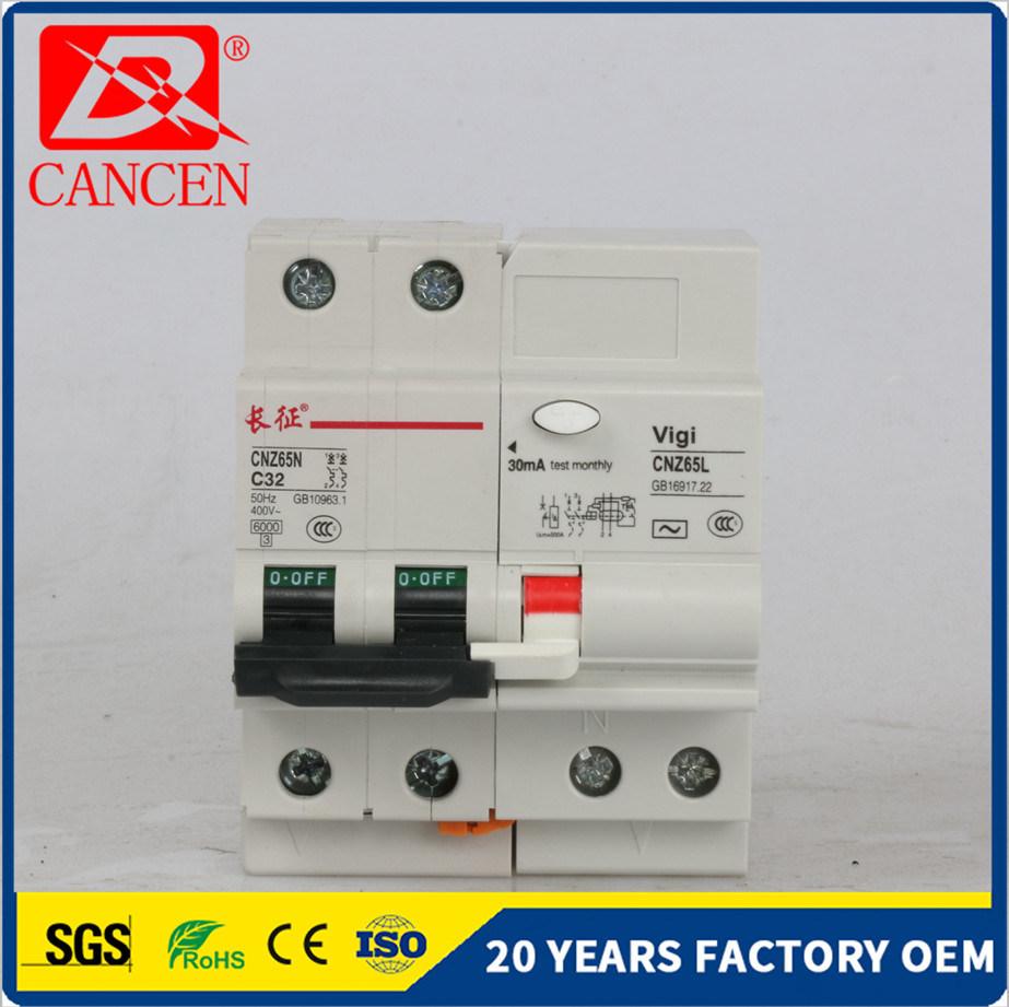 China C65 Electric Switch Mini Circuit Breaker High Quality 4p ...