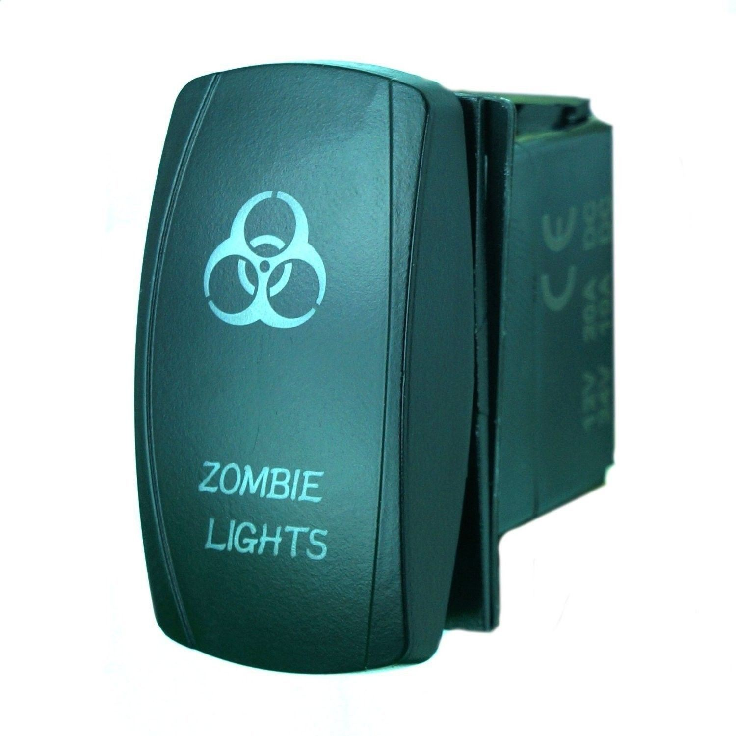 China Laser Blue Boat Marine Rocker Switch Zombie Lights 20a 12v On Details About Carling 5 Amp Single Circuit Breaker Off Led Light Car
