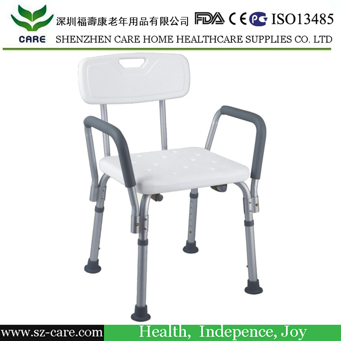 China Hospital Used Aluminum Medical Shower Chair & Bath Chair ...