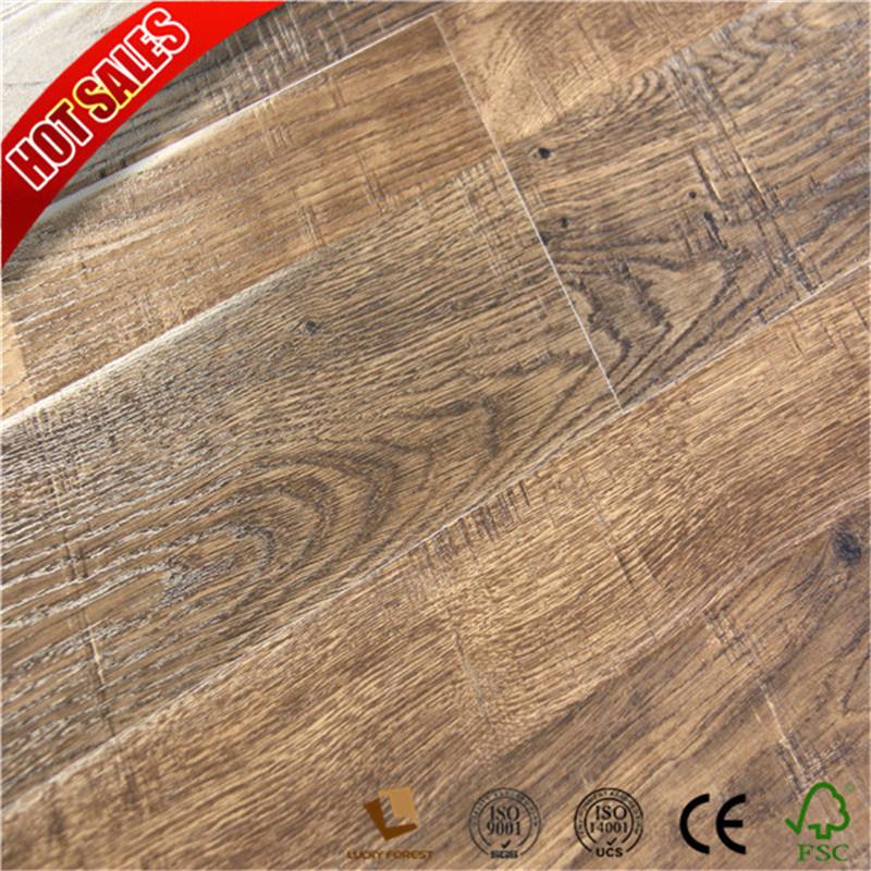 China German Tichnology Australia Teak Class 31 Laminate Floor Ac3 Hardwood Flooring Building Material
