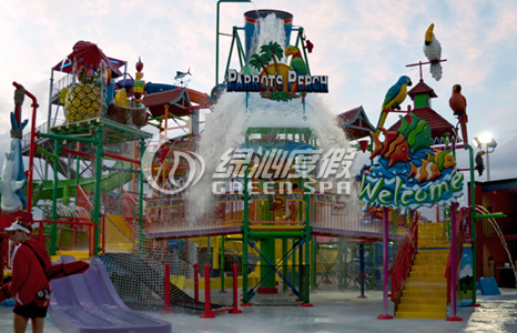 Medium Water House for Water Park Equipment