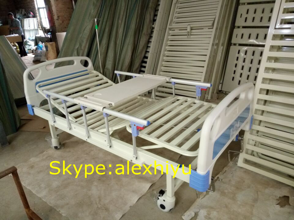 2 Crank Manual Hospital Bed Three Function Manual Hospital Bed