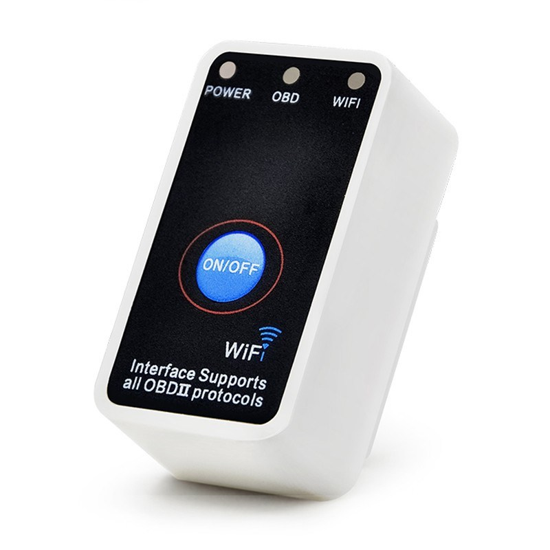 [Hot Item] Mini Elm327 WiFi with Power Switch Works on Ios/Android/PC