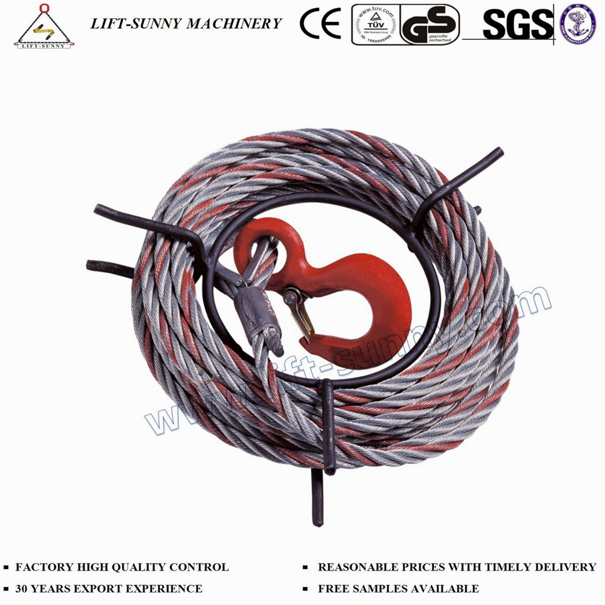 China Cable Winch Lifting Wire Rope Pulling Hoist Photos & Pictures ...