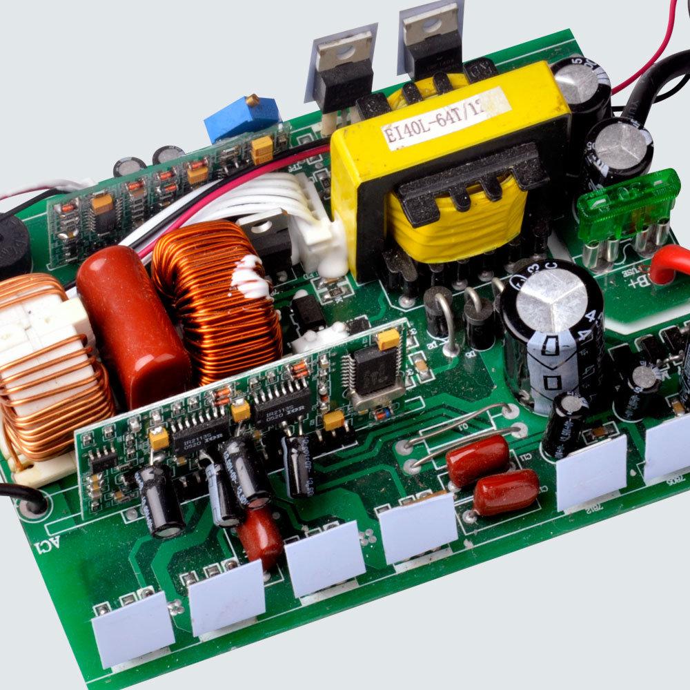 China 300 Watt 12v 24v 48v Dc To Ac 110v 220v Car Power Inverter Watts Pwm Controlled Pure Sine Wave Circuit With Output