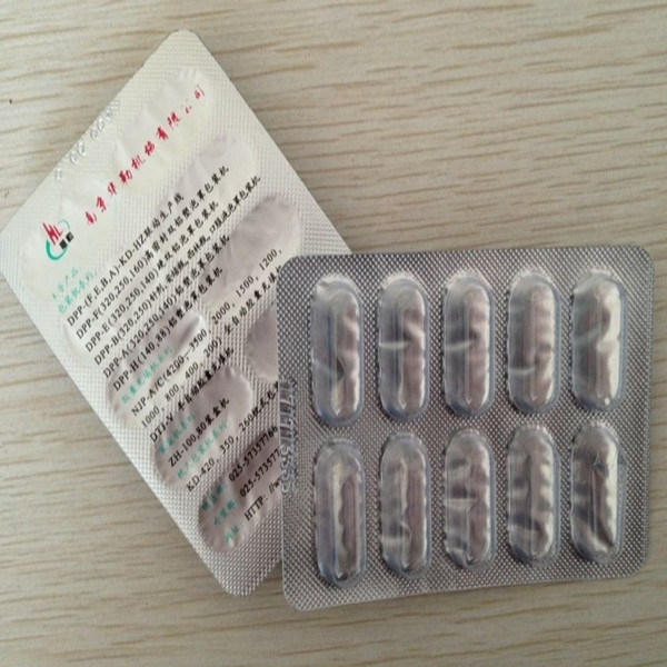 Printed Aluminum Blister Foil for Pills Packaging