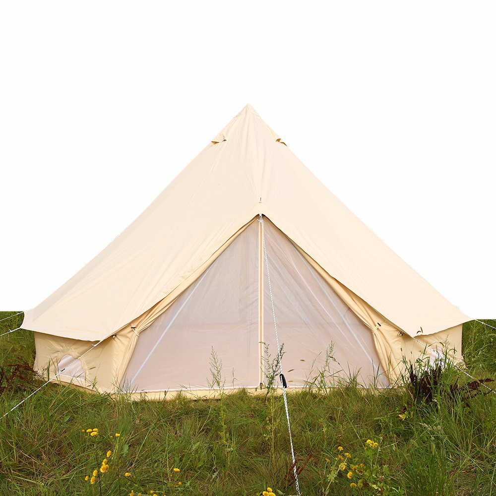 release date 3b5e7 91214 China Waterproof Outdoor Camping Cotton Canvas 5m Bell Tent ...