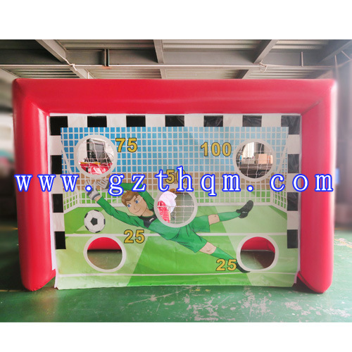 China Inflatable Soccer Dart Goal Game Cheap Inflatable Football