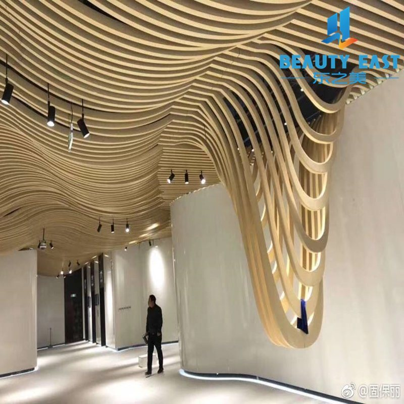 China Aluminum Simple Pop Ceiling Design In Rectangle Shape