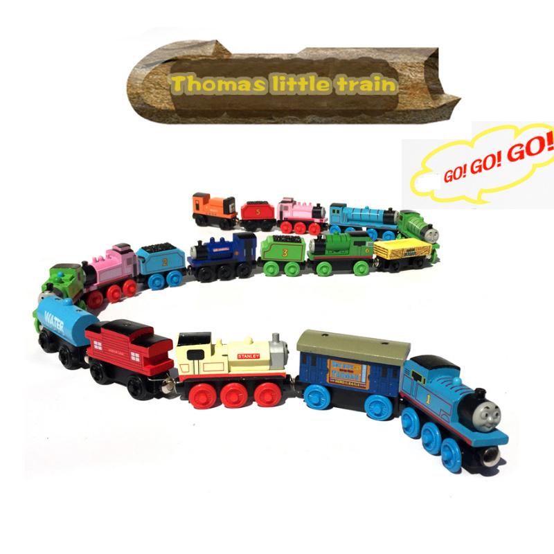 Thomas The Train Christmas.Hot Item Wooden Magnetic Thomas Trains Tracks Set Christmas Gift Children Educational Toys