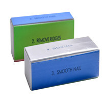 Por 4 Way Nail Buffer Shiner Sponge Block