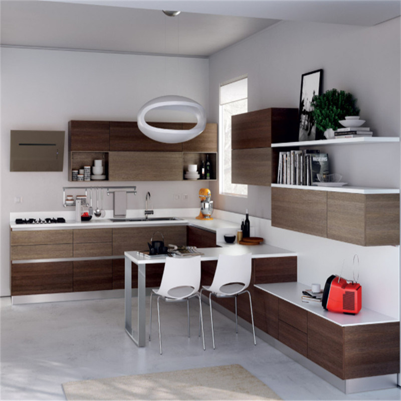 China Plywood Kitchen Cabinet With Refrigerator Cabinet For American House  Furniture   China American Kitchen, Cupboard