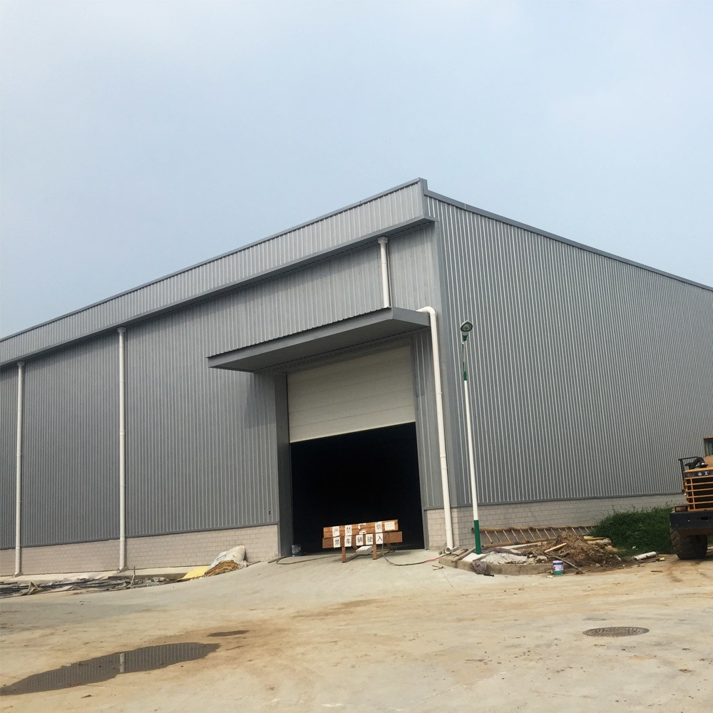 Steel Structure Building with Curtain Glass Wall for Car Showroom pictures & photos
