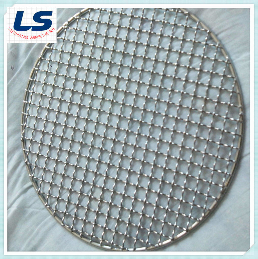 China Crimped Wire Mesh for BBQ Grill Wire Mesh - China BBQ Grill ...