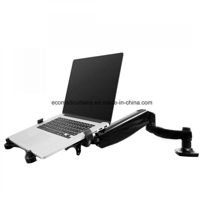 China 2018 Laptop Monitor Mount Arm With Desk Clamp Or Grommet Installation
