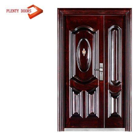 China Indian Model House Main Door Design Steel Door China Steel