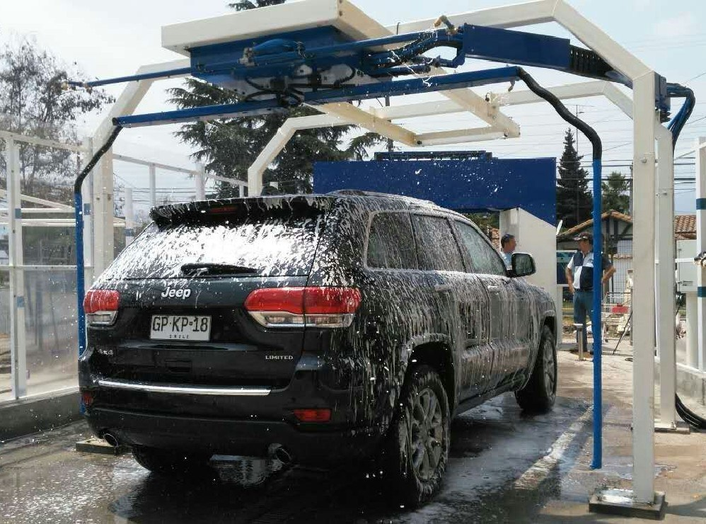 Automatic Car Cleaning Machine With No Brush Wash
