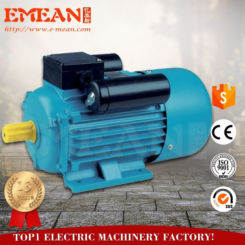China 1.1kw Single Phase AC Motor with 100% Copper Wire - China AC ...