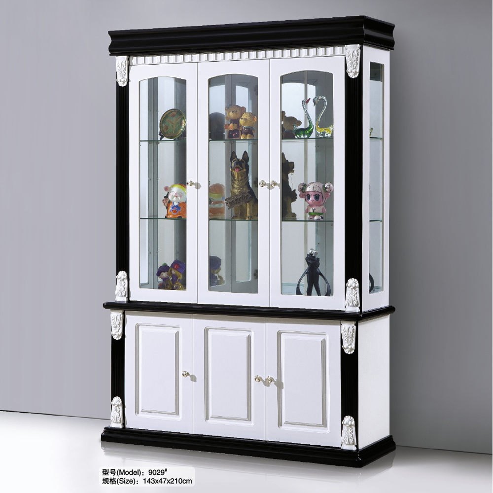 China Modern White Wine Display Cabinet for Living Room Photos ...