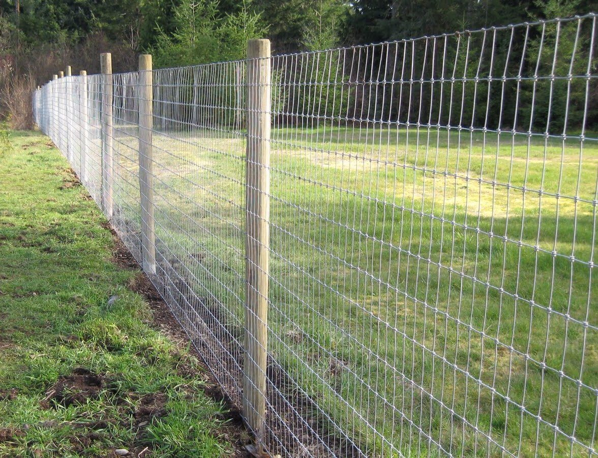 China Knotted Wire Mesh Fence, Field Fence - China Knotted Wire Mesh ...