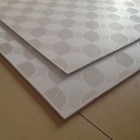 Factory Supply Pvc Laminated Gypsum Ceiling Tile Vinyl Coated Tiles