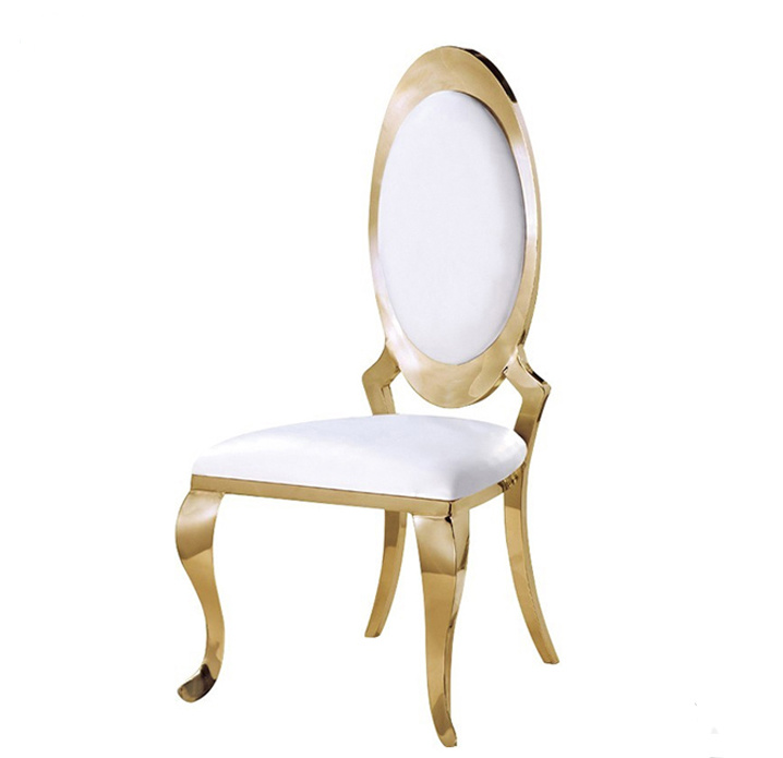 China Promotion Low Price Wedding Stainless Steel Chair With Oval Back    China Banquet Chair, Wedding Chair