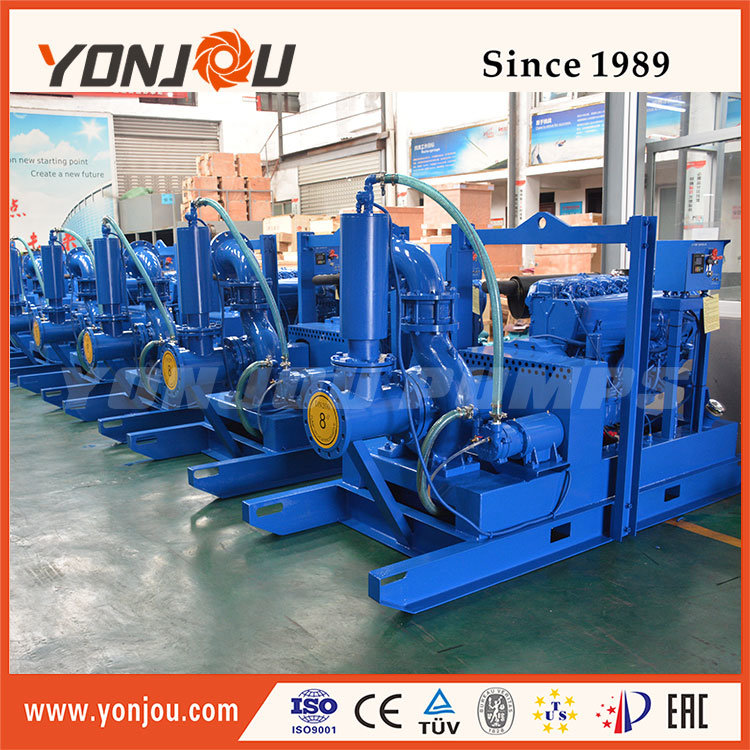 China Trailer and Skid Mounted Prime Assist Pumps Photos