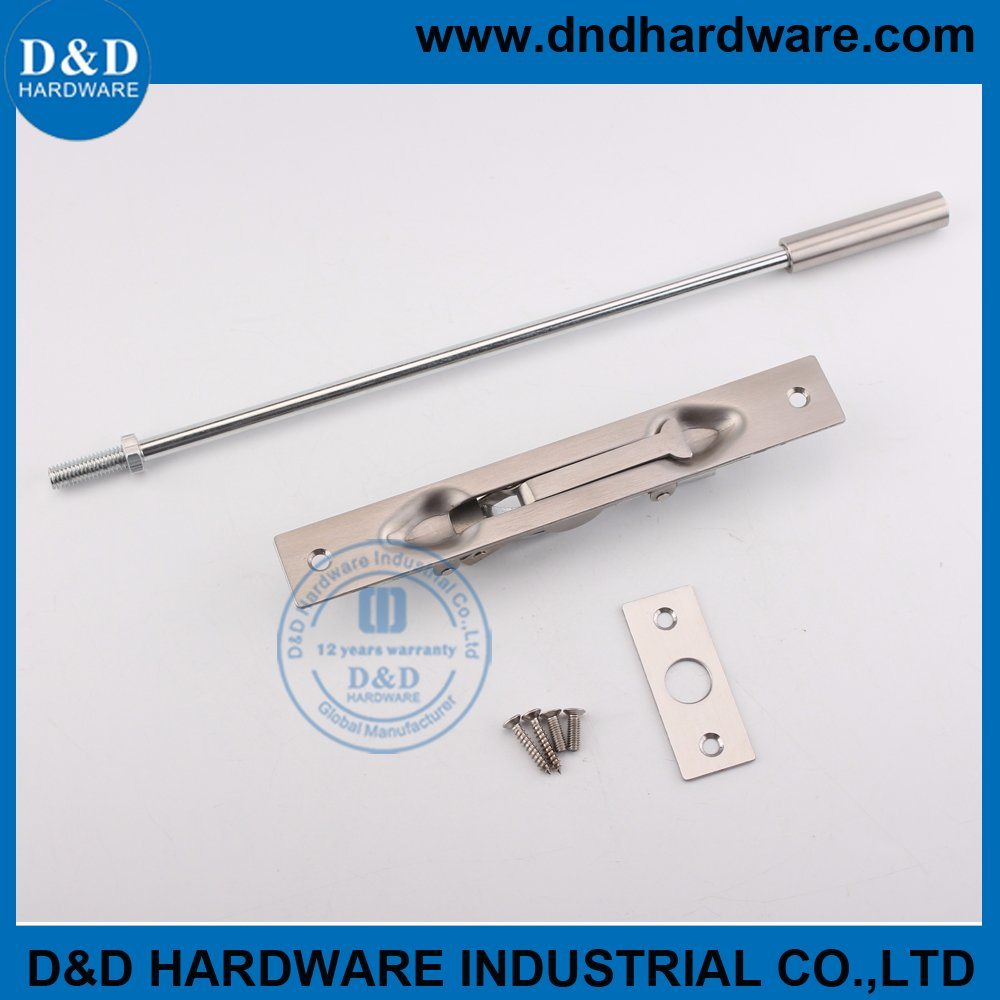 China Flush Bolt For Double Fire Rated Doors Dddb011