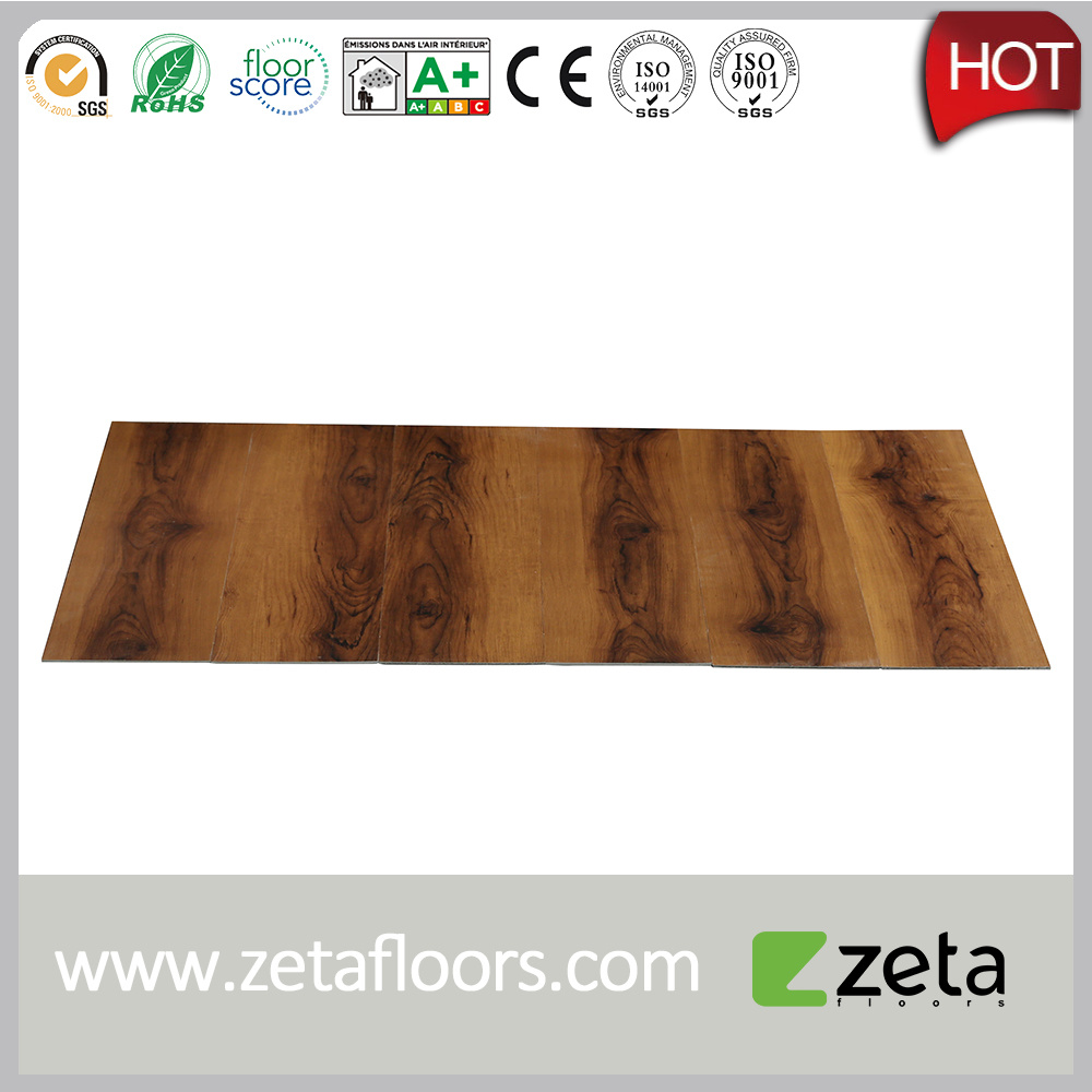 China Interlocking Vinyl Flooring with Selected Textured Designs and ...