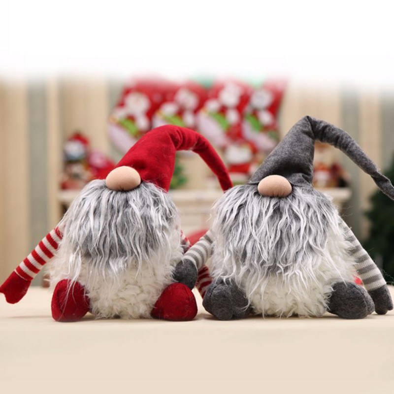 Handmade Xmas Christmas Decoration Kids Gift Santa Claus Plush Doll pictures & photos
