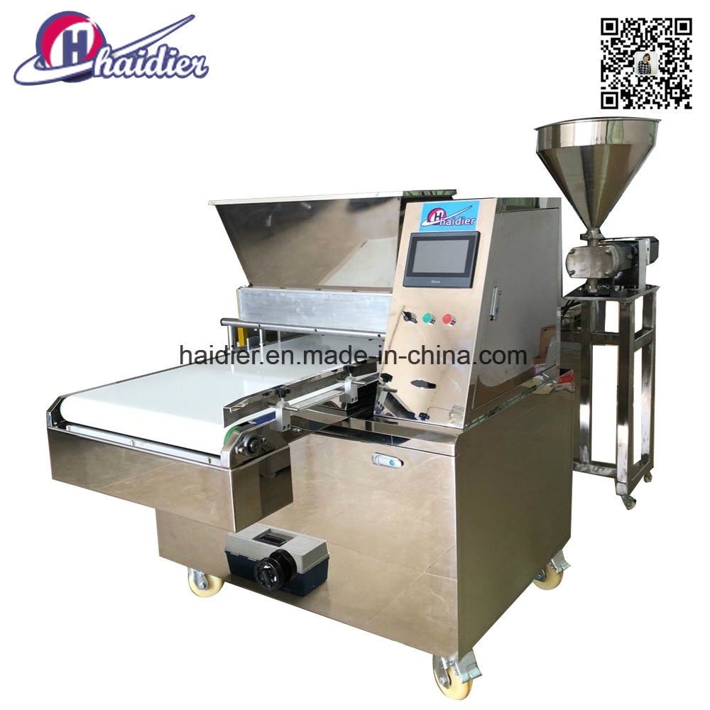 China Stainless Steel PLC Full Automatic Commercial Snack Cookie ...