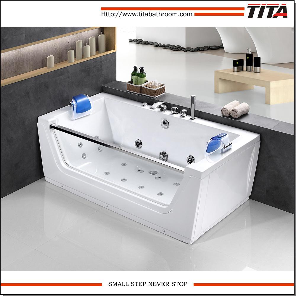 China One Side Glass Bath Tub Prices Tmb054 - China Bath Tub Prices ...
