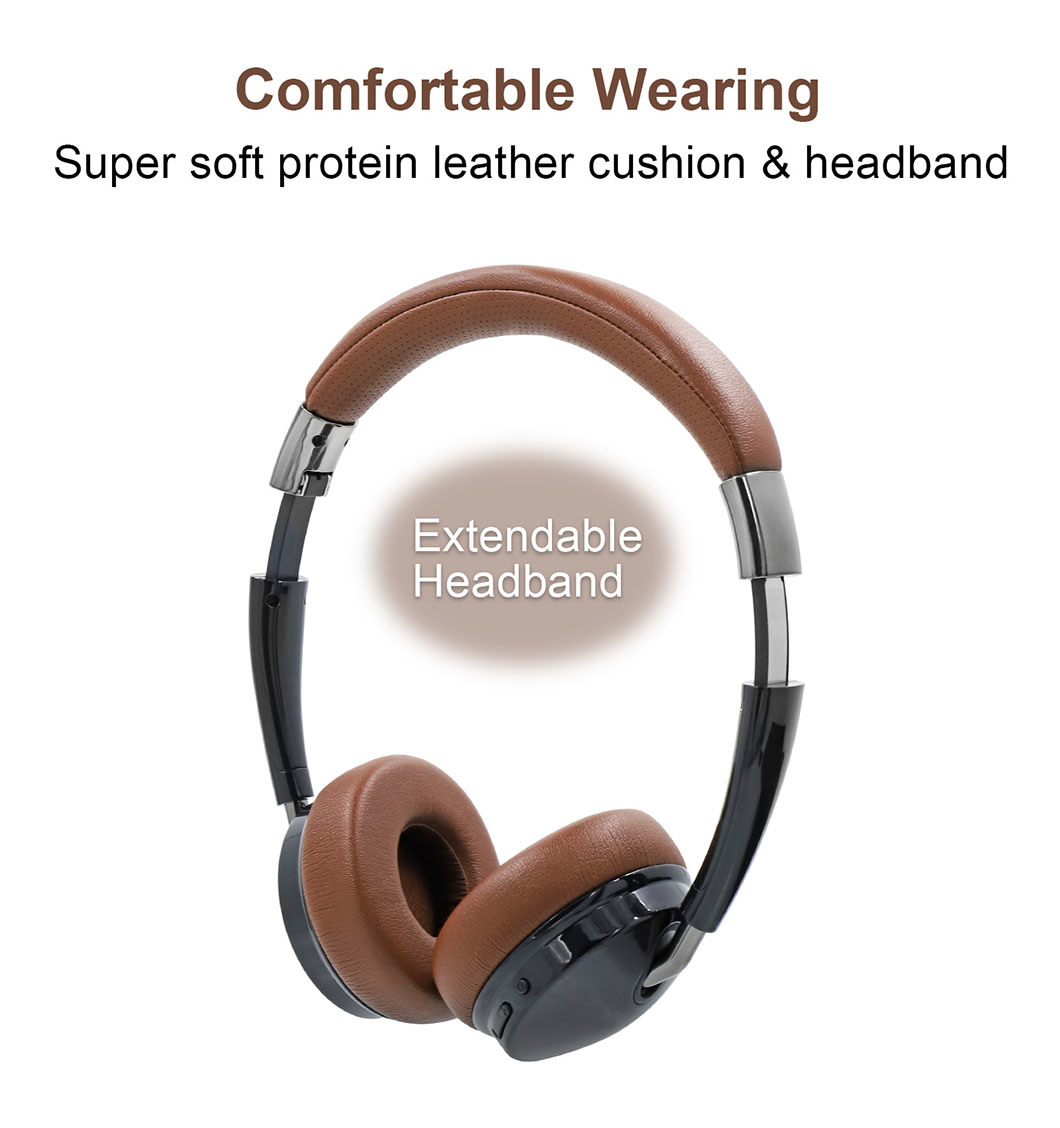 China Wireless 40mm Dynamic Headset Moving Coil Driver Speaker Bluetooth Stereo Earphone Headphone China Wireless Bluetooth Earphone And Bluetooth Wireless Stereo Earbuds Price